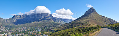 Buy stock photo A photo of Lions Head and surroundings