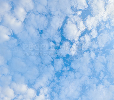 Buy stock photo Background and copy space - clouds