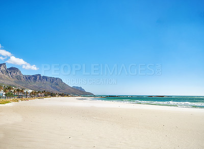Buy stock photo Large beach and ocean
