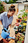 It's good gardening practice to keep your plants hydrated