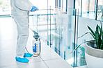 Failing to decontaminate public spaces can result in cross-infection
