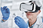 Virtual reality offers scientists a more instinctive way to understand data
