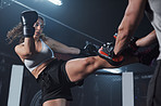 Get kickboxing for a knockout body