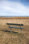 Bench on the East coast of Jutland,  Denmark