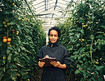 Taking charge of her thriving sustainable farm