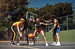 Playing basketball requires agility, strength and stamina