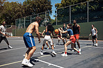 There's nothing better than playing with your friends on the court