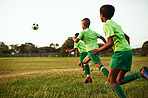 Soccer is excellent exercise for kids