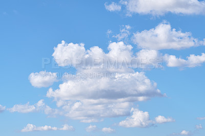 Buy stock photo a photo of natural summer clouds
