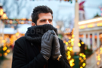 It\'s freezing cold
