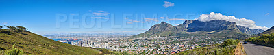 Buy stock photo Table Mountain National Park, Cape Town, South Africa.