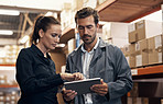 Incorporating IT systems into warehouse management
