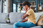 Working from the sofa isn't the best for your posture