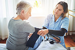 Monitoring your blood pressure can help prevent health problems
