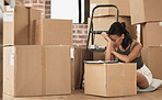 To some moving house is just another habit