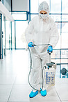 Call the decontamination expert is here