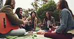 Nothing's better than music, food, friends and picnic