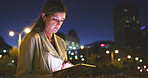 At night is when online businesses are the busiest
