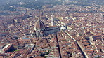 The beauty of Florence from above