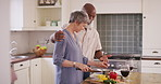 She still puts in the effort to cook his favorite meals
