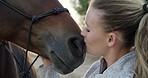 Horse kisses are the best kisses