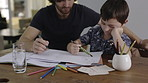 Homeschooling, when dad is your parent and peer