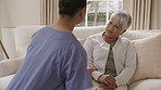 Communication is key in the relationship between a caregiver and patient