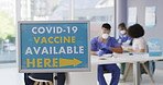 Higher vaccination rates makes outbreaks much less likely